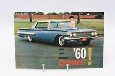 1960 CHEVROLET SALES BROCHURE ~ ALL MODELS ~ COLOR