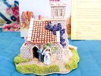 Lilliput Lane Figurine Miniature Wedding Bells Deeds 1992 No Certificate NMIB