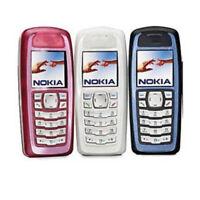 New NOKIA 3100 2G Network Unlocked Mobile Phones - Red Blue White Bar Cellphones