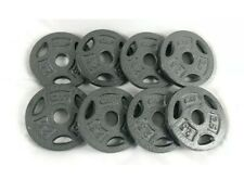 CAP 2.5 LB Barbell Weight Plates 1'' Standard Weights Set of 8 20lbs Total New