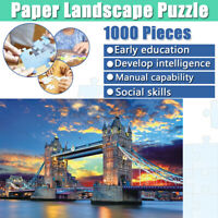 1000 Pieces Jigsaw Puzzle Landscape Pattern Kid Adult Assembling Education Toys