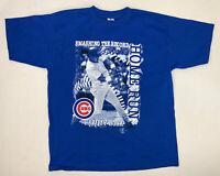 Vintage 90s Chicago Cubs Sammy Sosa T-Shirt Size Adult XL MLB Baseball