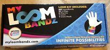 My Loom Bandz Kit for Making Rubber Band Bracelets New MISB