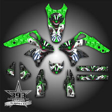 KAWASAKI KX250F KXF 250 2006 - 2008 GRAPHICS KIT DECALS EVIL JOKER GREEN