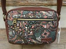 SAKROOTS Costa Camera-style Shoulder Bag SIENNA SPIRIT DESERT  107795  New!