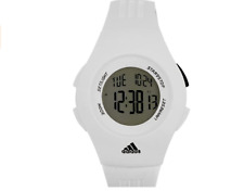 Adidas Ladies Digital Chronograph Classic Furano Sport White Strap Watch ADP6018