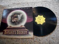Michael Cassidy LP-Nature's Secret-1977-Golden Lotus-NM