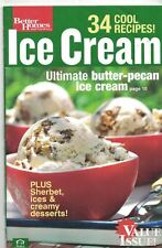 Better Homes & Gardens ICE CREAM 34 COOL RECIPES Cookbook 2006