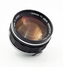 Canon EF 50mm f/0.95 EF Lens