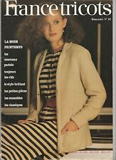 Catalogue tricot France Tricots Printemps N°65
