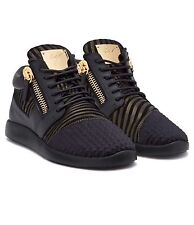 Guiseppe Zanotti Runner Noir UK8 US9 EU42 100% Authentique