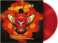 KILLING JOKE - MALICIOUS DAMAGE: LIVE AT THE ASTORIA - RED - 2 LP