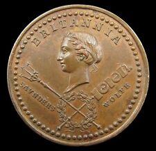 More details for 1759 quebec taken 40mm medal - by pingo