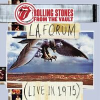 THE ROLLING STONES - FROM THE VAULT-L.A.FORUM-LIVE IN 1975 DVD + 2CD NEUF