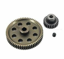 HSP 11184 11176 Diff Metal Spur Gear 64T & Pinion 26T for Redcat Volcano EPX/PRO