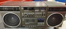 Sanyo Japan Boombox Ghetto Blaster Vintage C4 Stereo Cassette Amplifier Tuner