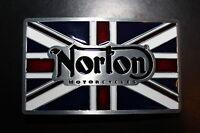 Buckle  Gürtelschnalle  Koppel Norton Motorcycles
