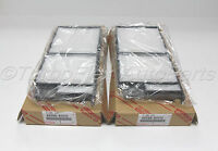 Toyota Land Cruiser 06-07 Lexus LX470 98-07 Pollen Cabin Filter Set of 2 Genuine