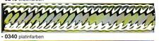 ZO-3-AM-0340 Bordüre-Zopf 3x20 cm    p/Stk. 1,99