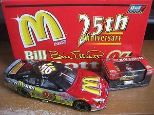 BILL ELLIOTT #94 MCDONALDS 25TH ANNIV. SET 1:24 & 1:64 REVELL 2000 ONE OF 1,008