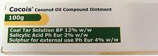 COCOIS 100g Coconut Coal Tar Sulphur Salicylic Acid Scalp Ointment