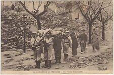 LA CATASTROFE DI MESSINA - VIA PORTA REAL BASSO 1918