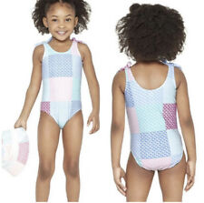 Vineyard Vines Target Girls Toddler Swimsuit - Patchwork School Of Whales 5T