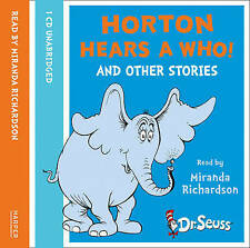 Horton Hears A Who And Other Stories [Unabridged Edition] 1/76 by Dr. Seuss (CD-Audio, 2009)