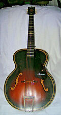 Vintage Collectable 60s HARMONY Acoustic Archtop Guitar Model H1215