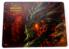 Wow Cataclysm Collectors Edition almohadilla apuri UE versión. Blizzard. BlizzCon