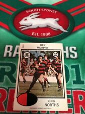 1975 Scanlens Rugby League Card No 49  Rex Murphy North Sydney