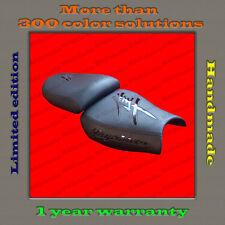 Design Seat Cover Suzuki Hayabusa 99-07 HAND-MADE black+black-gloss 001_1