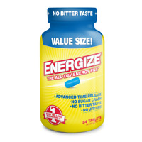 ENERGIZE America's #1 Selling All-Day Energy Pill - 84 Time Released Tablets