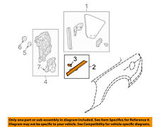 FORD OEM 11-14 Mustang-Weatherstrip Seal Left BR3Z76297B07A