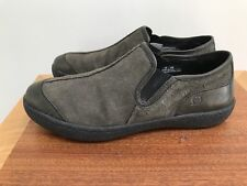 Born Slip On Mushroom GRAY BROWN Suede Mocs Loafers Casual Shoes Men's 10 / 44