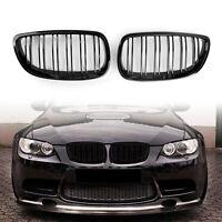 Front Grille de calandre Double Rib Pour BMW 06-09 E92 E93 328i 335i 2DR Black ,