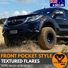 Mazda BT50 BT-50 2012 2013 2014- 2017 Front Pocket Style Flares kit Wheel Arches