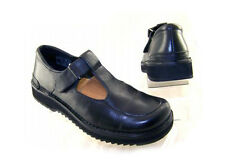 New SIMPLE Women Mary Jane Leather Wedge Heel Flat Slip On Comfort Loafer Sz 7 M