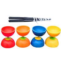 JN_ Big Bowl Diabolo Metal Sticks String Set Chinese YoYo Juggling Toy Gift He