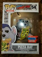 Official NYCC 2020 Sticker Funko Pop Pizza Rat with Blue Hat #54 IN HAND 🔥🔥🔥