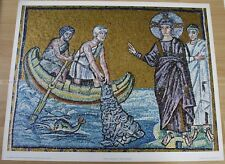 MOSAIC 520 the miraculous draught of fish * KUNSTKREIS LUCERNE ART PRINT 1968