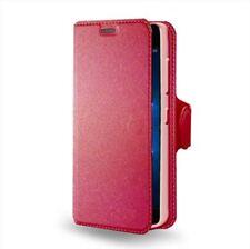Custodia Flip portadocumenti con stand per Nokia Lumia 950, Colore: Rosa