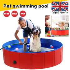 More details for large dog puppy pool pet bath swimming pool portable foldable paddling bathing