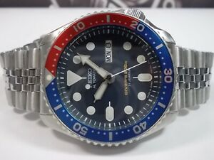 SEIKO SCUBA DIVERS SKX009J 'MADE IN JAPAN' MENS WATCH 7S26-0020 PEPSI -SN 660222