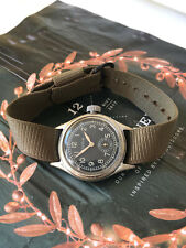 WW2 US military issued Bulova men's watch, Type OF 54755