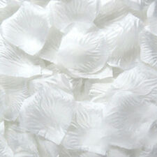 100/1000Pcs Simulation Rose Petals Wedding Party Table Confetti Decorations