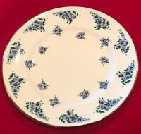 "Royal Victoria Fine Bone China England 8 1/4"" Salad Lunch Dessert Plates (4) EUC"