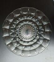Kristallschüssel / Schale ca. 31 cm Durchmesser