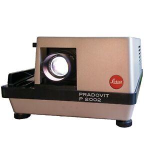 Leica Leitz Pradovit 2002 Slide Projector with Leica Colorplan-P 1:2.5/90 Lens