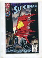 SUPERMAN #75 THE DEATH OF SUPERMAN! (8.0) 1993 3rd PRINT